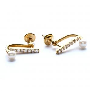 Karlene Gold Earring 1